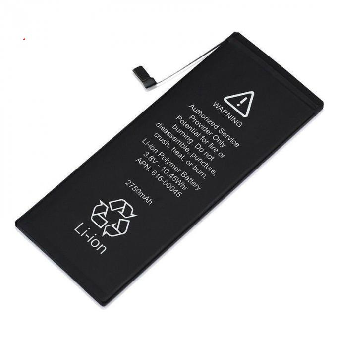A1634 A1634 A1690 5.5 Inch IPhone 6S Plus Battery 2750mAh Li - Polymer Cell 0 Cycle