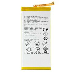 China 2600mAh 3.8V Mobile Phone Battery Replacement , Huawei Ascend P8 Battery HB3447A9EBW supplier