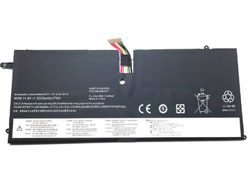 China Brand New 45N1070 Lenovo ThinkPad X1 Battery , 46Wh 3110mAh 14.8V Laptop Battery factory