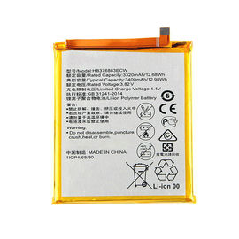 HB376883ECW Cell Phone Lipo Battery , Huawei Ascend P9 Plus Huawei Cell Phone Battery